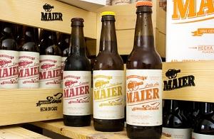 Visita la f�brica de cerveza Maier