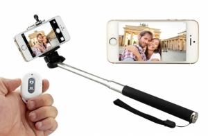 Palo de selfie+mando bluetooth+tr�pode