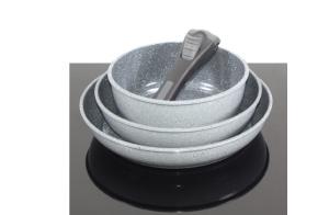 Batería de cocina Tekno cheff 6 piezas