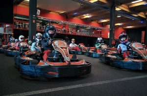 Mini Gran Premio para 8  de karting