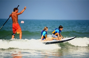 ¡Practica paddel surf!