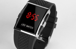 Reloj digital LED watch
